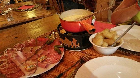 Vallorcine, Francia: La fondue royale