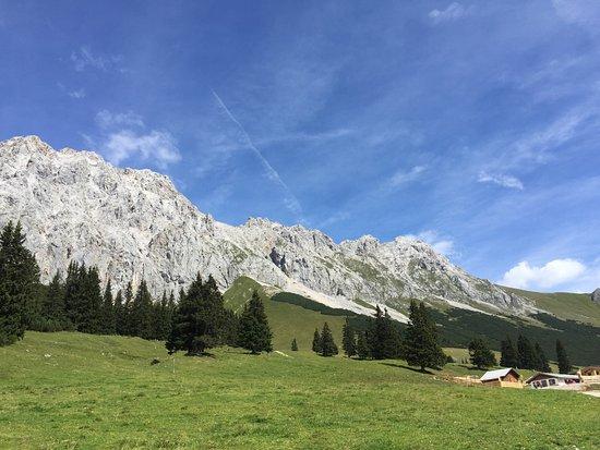 Ehrwald, Austria: Hochfeldern Alm ist einfach perfekt...
