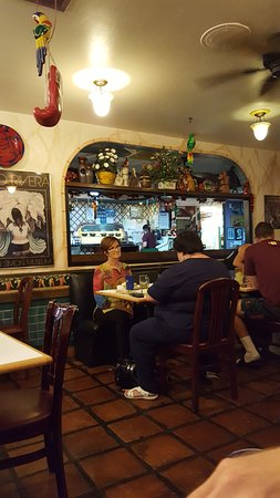 Mi Patio Mexican Food: Interior Of Restaurant