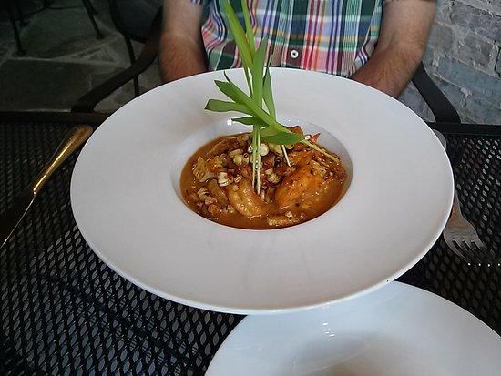 Brevard, NC: New Orleans Barbecued Shrimp