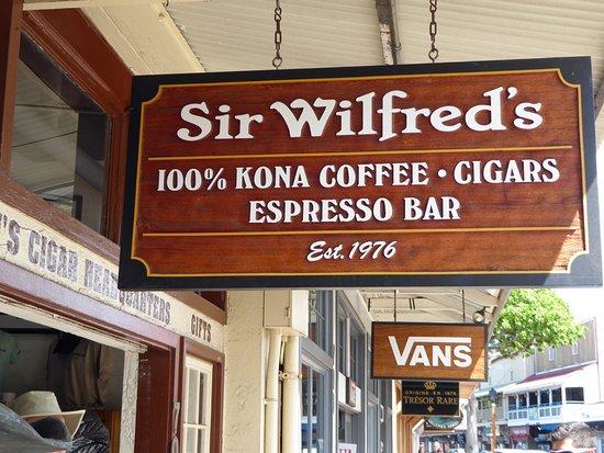 Макаво, Гавайи: Sir Wilfred's - Coffee tasting