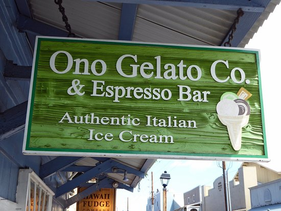 Макаво, Гавайи: Ono Italian Gelato