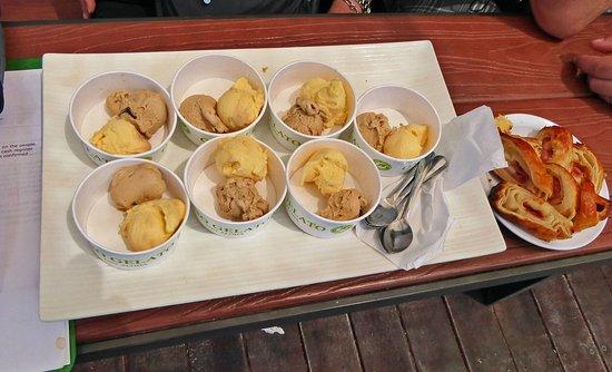 Макаво, Гавайи: Taste of Italian gelato, ONO