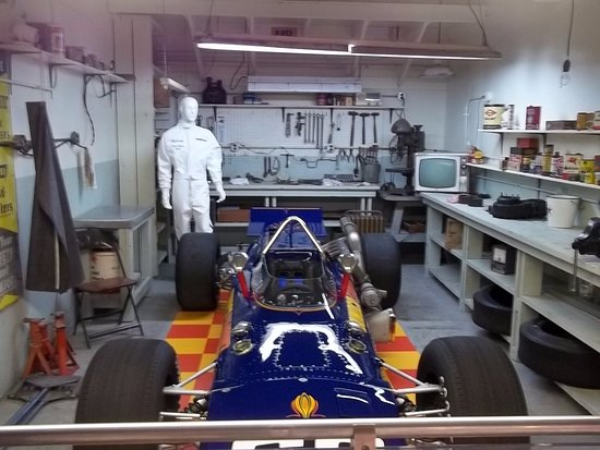An Old Garage Workshop Picture Of Indianapolis Motor Speedway