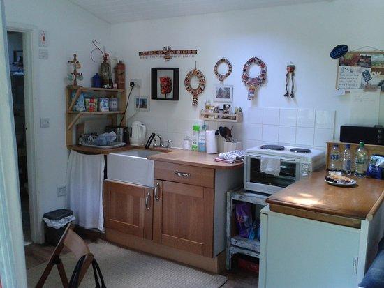 Bantham, UK: Küche