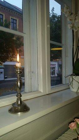 Hotel PostGaarden: Fra vores middag John Nørrebro