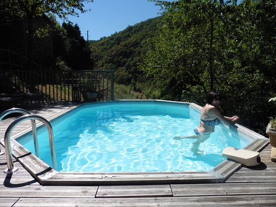 Entraygues-sur-Truyere, فرنسا: Plunge Pool