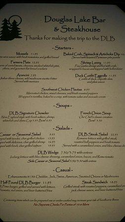 Pellston, MI: Douglas Lake Bar and Steak House