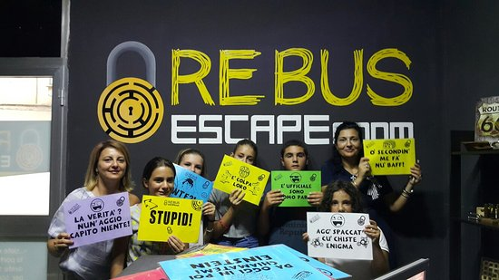 ‪Rebus Escape Room Aversa‬
