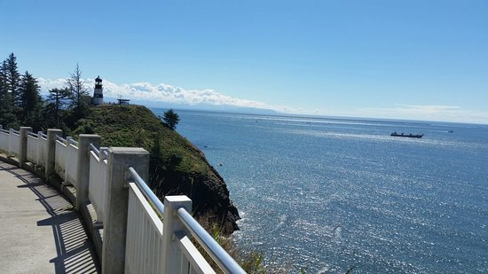 Ilwaco, WA: Cape Disappointment  and Pacific Ocean