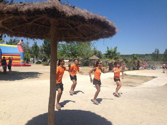 Camping camp ole la c te des roses narbonne plage france - Hotel narbonne plage avec piscine ...