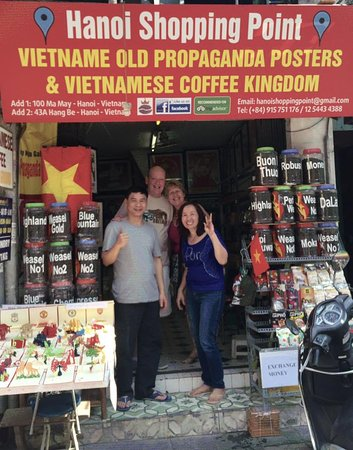 Hanoi Shopping Point - Vietnamese Coffee Kingdom