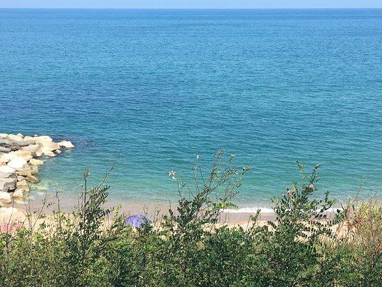 Rocca San Giovanni, Italy: Spiagge de La Foce
