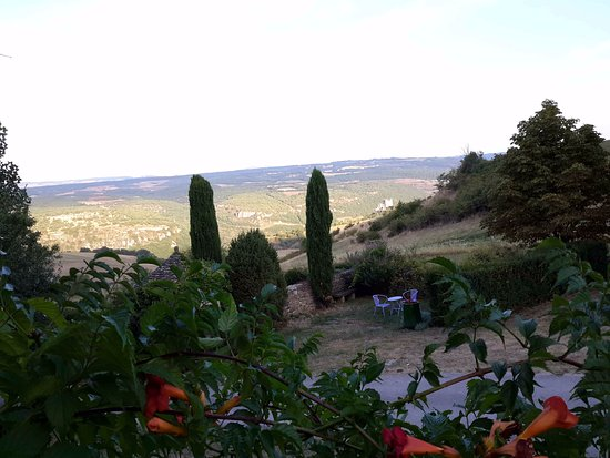 Compeyre, Frankrike: Vue de la chambre