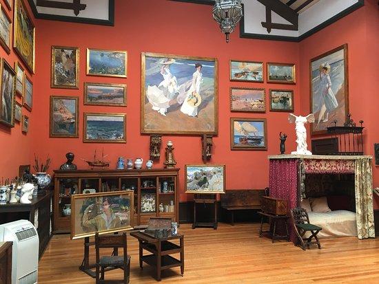 Taller del pintor sorolla en su casa museo fotograf a de museo sorolla madrid tripadvisor - Casa de sorolla en madrid ...