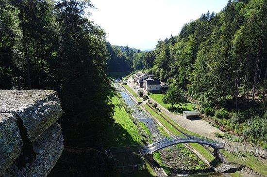 Miedzygorze, Polen: Widok z zapory
