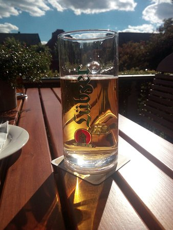 Luebz, Almanya: Eldeterrassen Lubzer Stuben