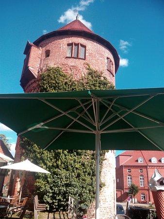 Luebz, Germany: Eldeterrassen Lubzer Stuben