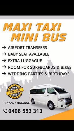 Maxi Taxi + Baby Seat Available