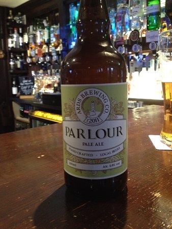 The Parlour Bar: Our own ale