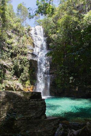 Cavalcante, GO : Cachoeira Santa Barbara