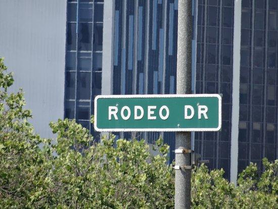 Beverly Hills, CA: rodoe drive sign
