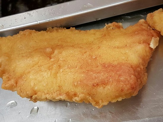 Westbrook, UK: Nice and Crispy Best ever fish and chips