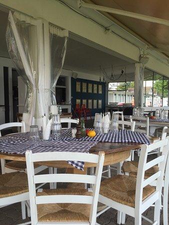 The Beach: Restaurant und Ausblick