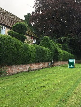 Coxwold, UK: Front approach