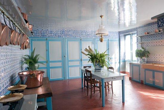 maison et jardins de claude monet int rieur de la maison. Black Bedroom Furniture Sets. Home Design Ideas