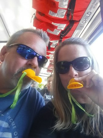Ride The Ducks of Branson: Had a blast riding the ducks with Captain Blue