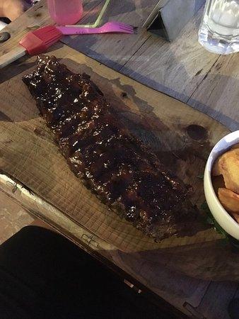 The Lodge Steak & Seafood Co.: Nice spareribs! Good taste