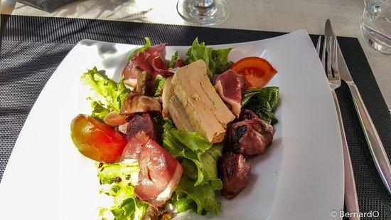 La Villa 31: Salade gersoise gourmande...