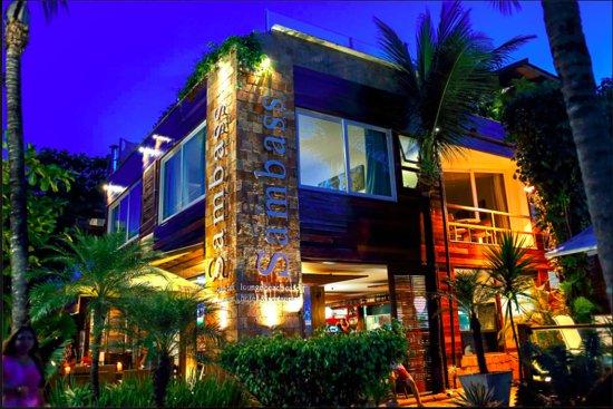 Sambass Cafe Restaurante: Restaurante SambaSS - Morro de São Paulo