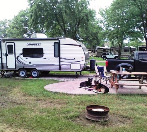 Greenfield, IN: Indy KOA site D33