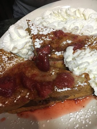 Annies: strawberry nutella french toast
