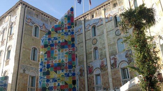 Grande Albergo Ausonia & Hungaria: Отель в стиле ар-нуво