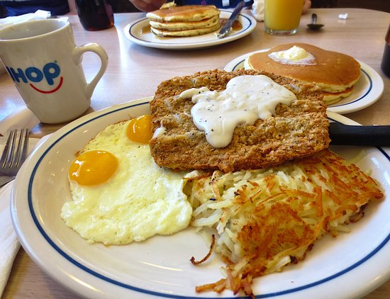 Chicken Fried Steak And Eggs Picture Of Ihop El Paso Tripadvisor