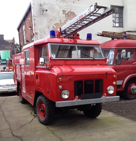 National Emergency Services Museum: Fun day out!