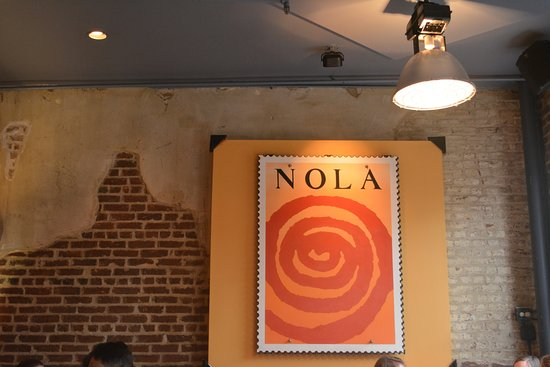 Nola Restaurant: Made it!