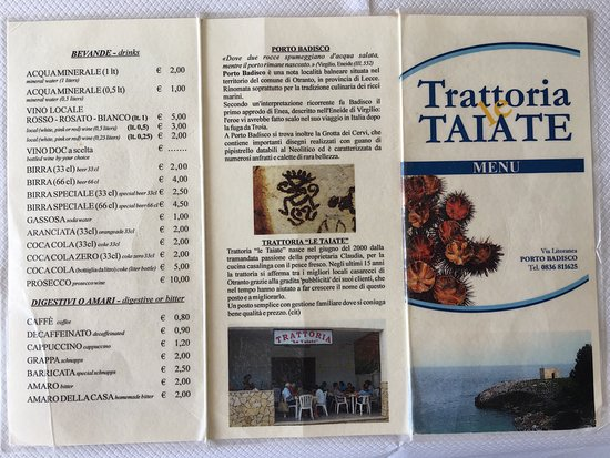 Trattoria Le Taiate : photo3.jpg