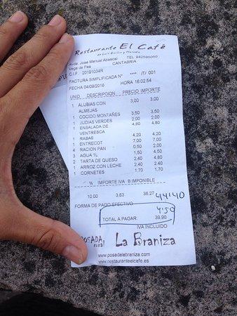 Restaurante El Cafe Picture Of Restaurante El Cafe Vega De Pas
