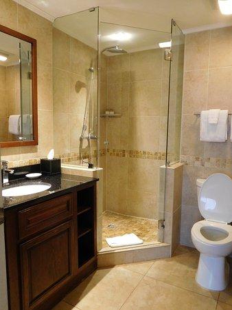 Divi Aruba Phoenix Beach Resort: 1 bedroom suite (bathroom 1 of 2)
