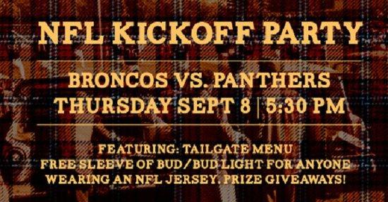 เซอร์เรย์, แคนาดา: The ULTIMATE NFL Kickoff Party, at all JRG Public Houses