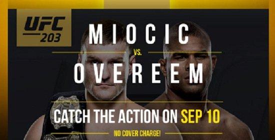 เซอร์เรย์, แคนาดา: It's UFC 203 – September 10th, 2016!
