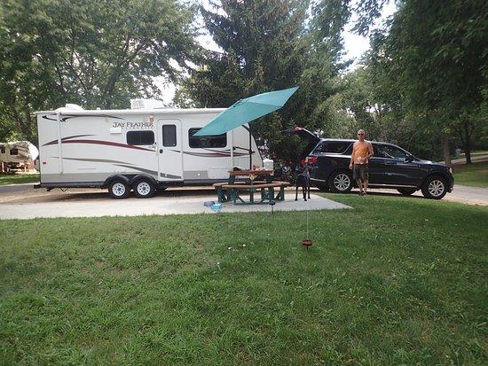 Lodi, WI: VIP pull through campsite