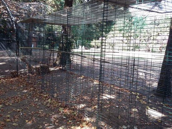 Saint-Cyr-en-Talmondais, Francja: Empty animal/bird cages.