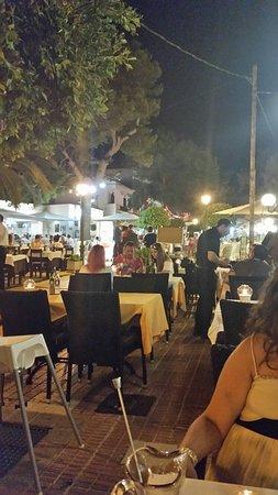Restaurant Rustic : Lovely atmosphere