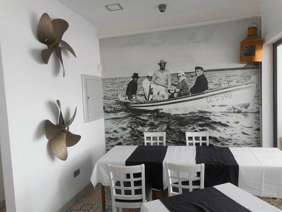 Murales fatto con cocci di piastrelle picture of la marquesina