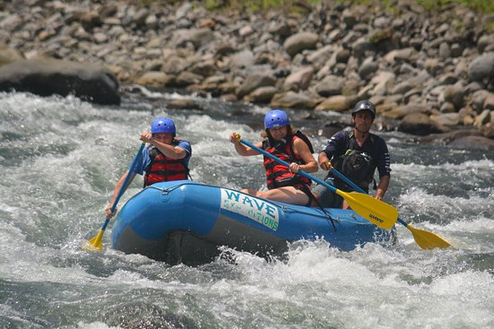 Lost Iguana Resort & Spa: That's us on the Sarapiqui River!